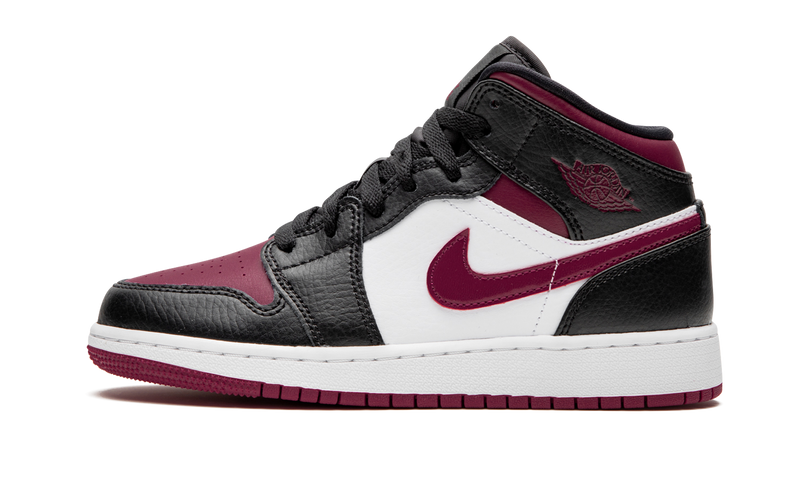 Air Jordan 1 MID (GS) 'Bred Toe'