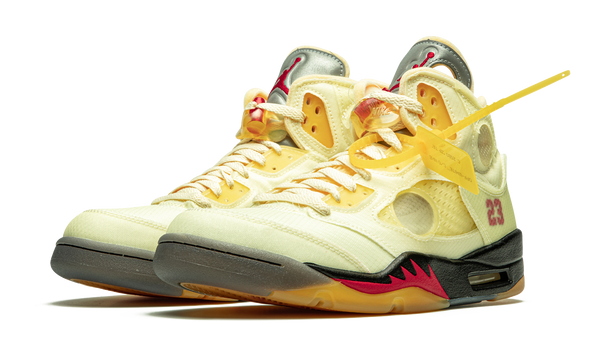 Off-White x Air Jordan 5 Retro SP Sail