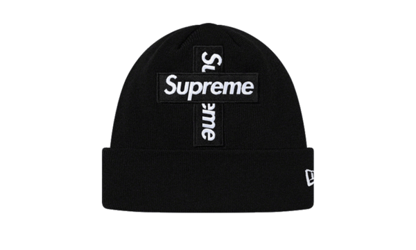 Supreme Cross Box Logo Beanie Black