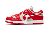 "Nike x ""Off-White"" Dunk Low University Red"