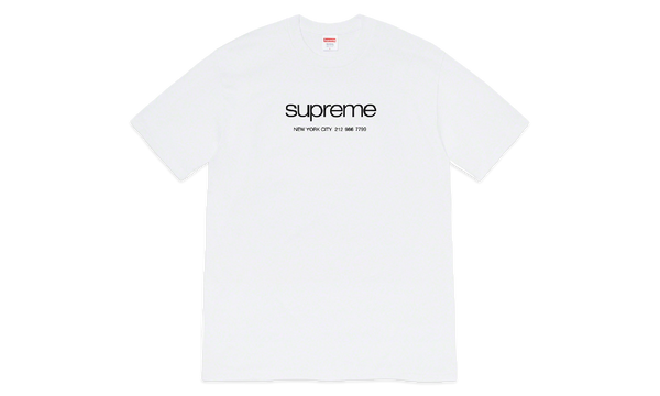 Supreme Shop Tee White
