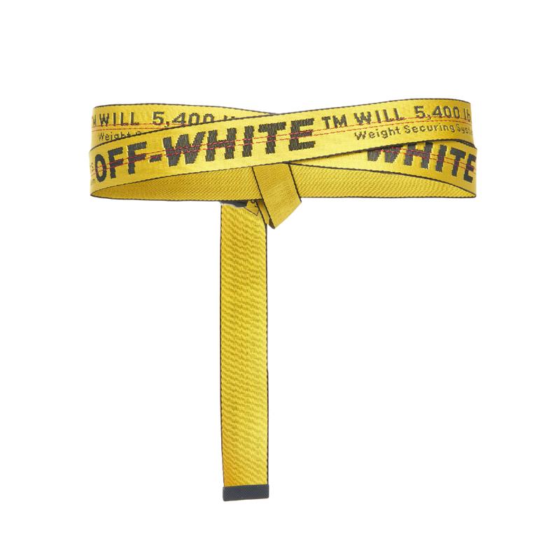 Off-White Industrial Belt (SS19) Yellow/Black