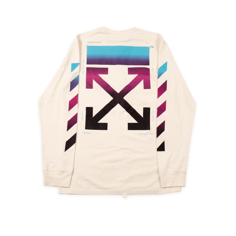Off-White Gradient Longsleeve