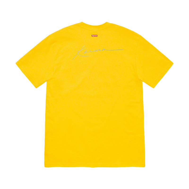 Supreme Pharoah Sanders Tee Yellow