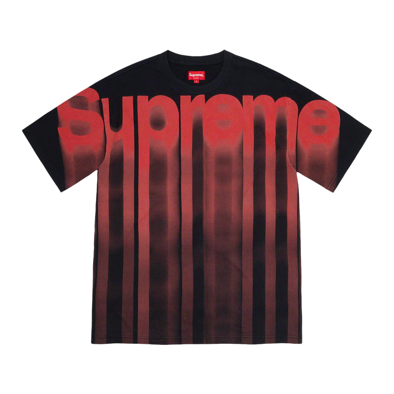 Supreme Bleed Logo S/S Top Black