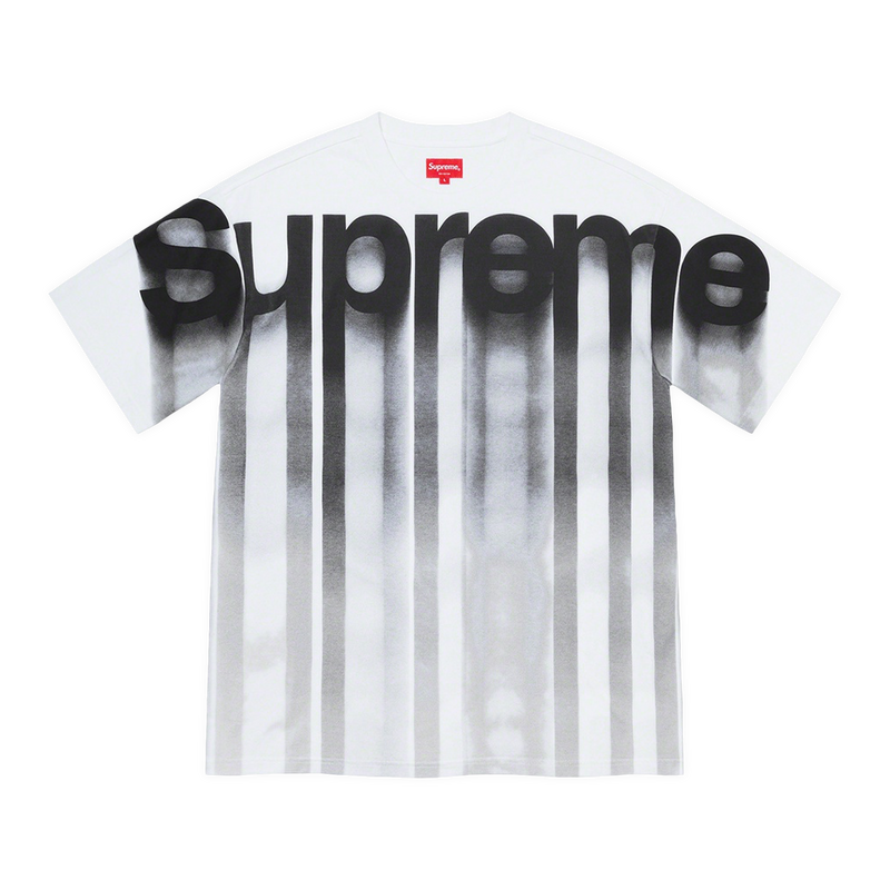 Supreme Bleed Logo S/S Top White
