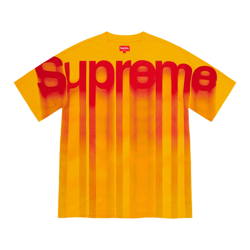 Supreme Bleed Logo S/S Top Yellow