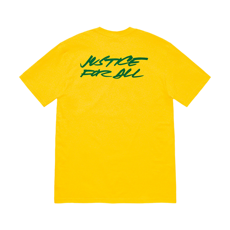 Supreme Futura Logo Tee Yellow