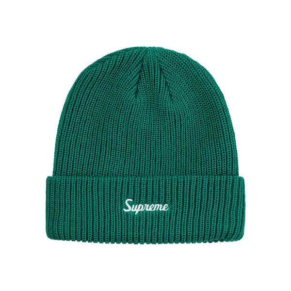 Supreme Loose Gauge Beanie Teal