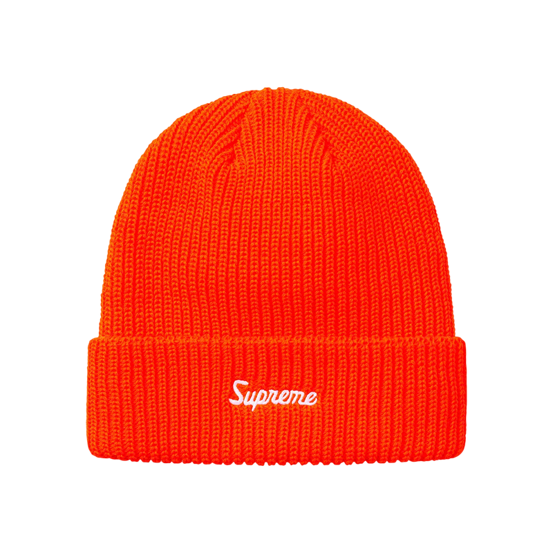 Supreme Loose Gauge Beanie Orange