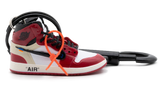 Off-White x Air Jordan 1 High Chichago Kulcstartó