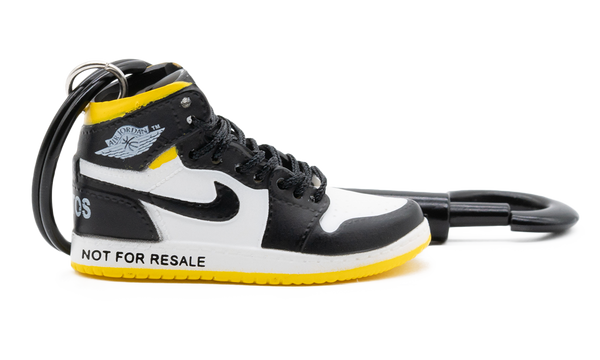 "Air Jordan 1 High ""Not for Resale"" Yellow Kulcstartó"