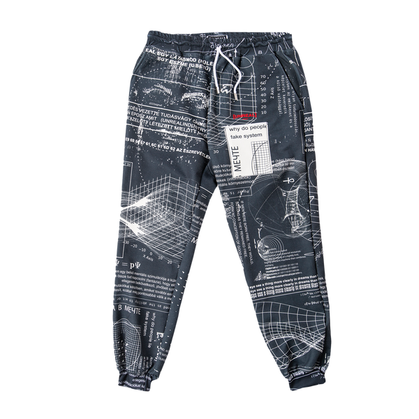UNREAL - ABOUT US PANTS BLACK