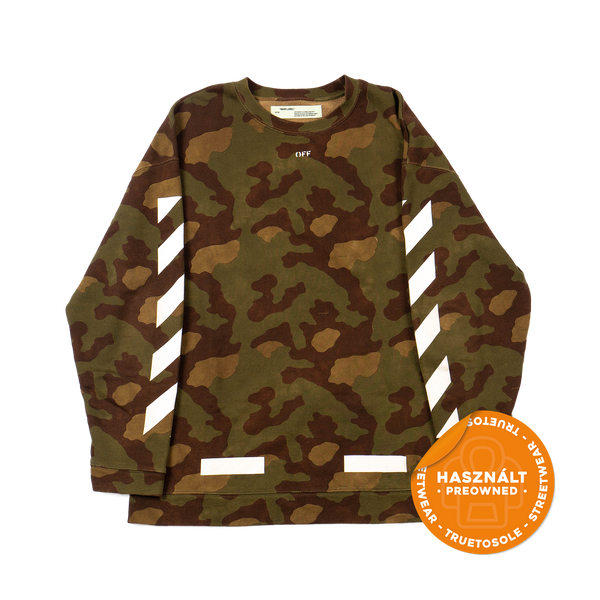 Off-White Camoflauge Crewneck