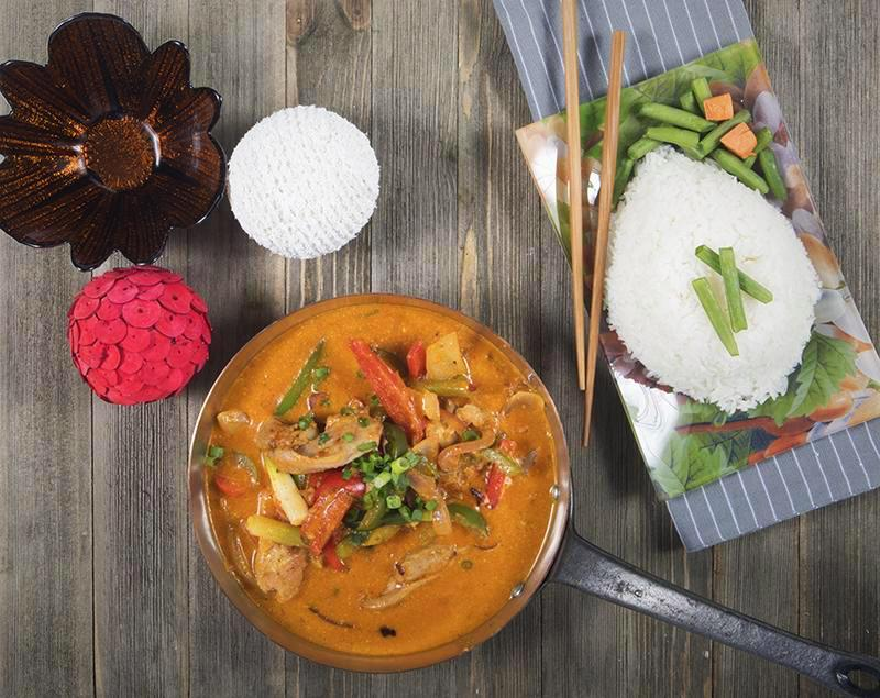 Thai Chicken Red Curry - Chefnbox