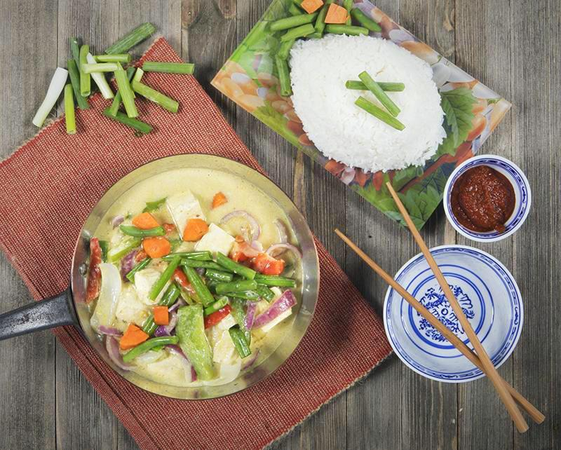 Thai Vegetable Green Curry - Chefnbox