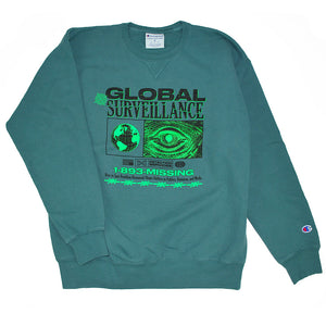 Global Surveillance Champion® Crewneck