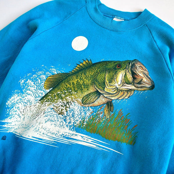 Vintage Largemouth Bass Sweatshirt