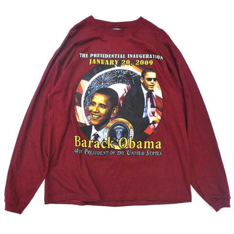 Vintage Obama Long Sleeve Tee