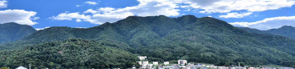 Aizu Fukushima Japan Summer Greenery View