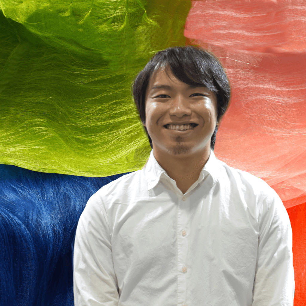 Natural Plant Dye Artist Mr. Maito with his Colorful Silk Stoles and Scarves
