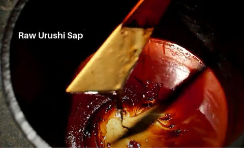 Urushi Raw Redish Yellowish Sap