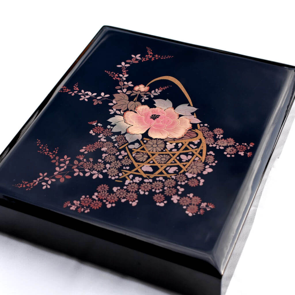Traditional Japanese Urushi Wedding Box Japan