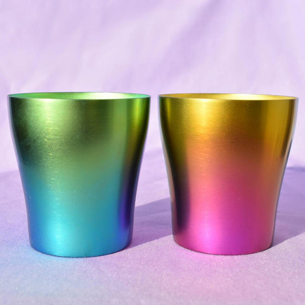 Pair of Neon Light Tumblers in Light