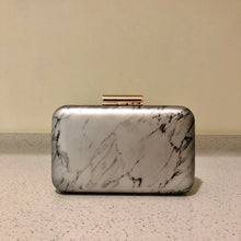 Load image into Gallery viewer, Marble Clutch Grey