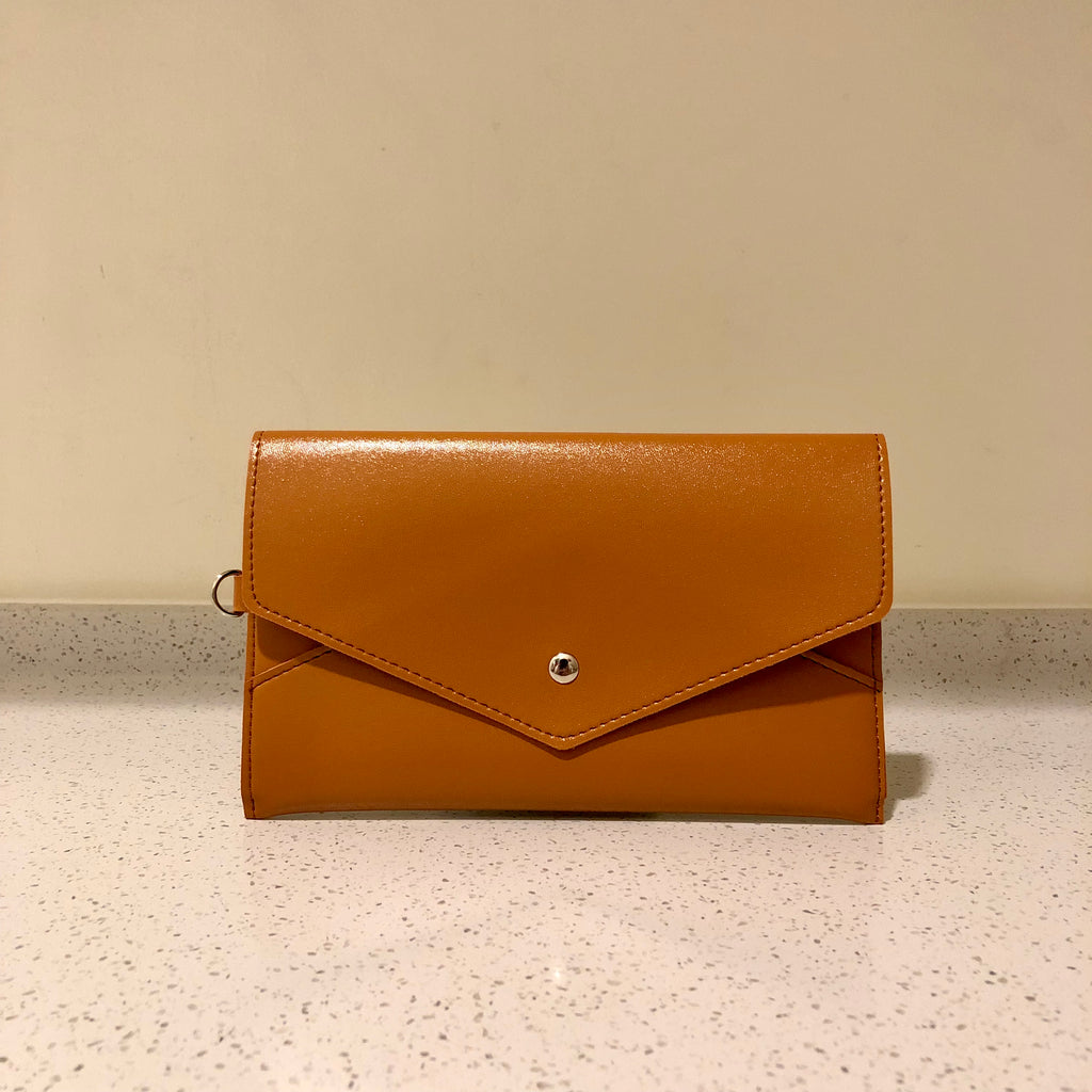 Envelope Purse Brown