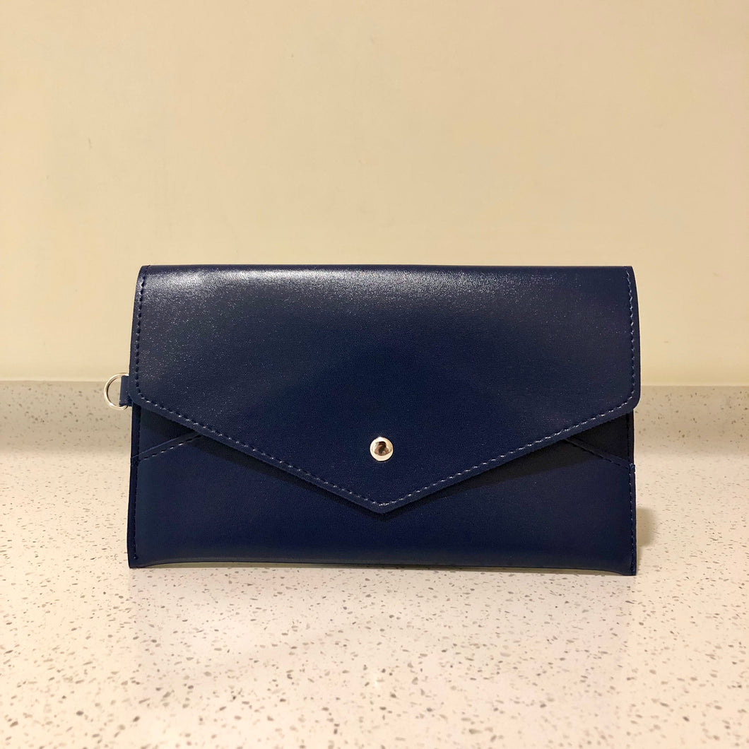 Envelope Purse Navy