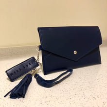 Load image into Gallery viewer, Envelope Purse Navy