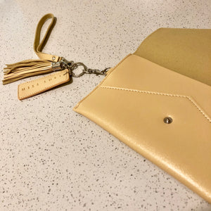 Envelope Purse Beige