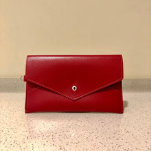 Load image into Gallery viewer, Envelope Purse Red