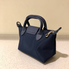 Load image into Gallery viewer, Kate Nylon Tote Bag Navy