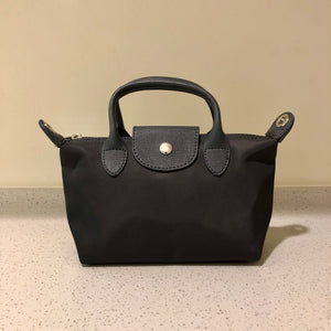 Kate Nylon Tote Bag Grey