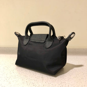 Kate Nylon Tote Bag Black