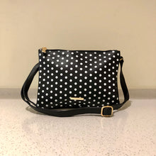 Load image into Gallery viewer, Twin Sling Black Polkadot