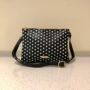 Twin Sling Black Polkadot