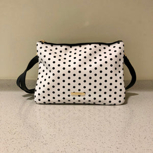 Twin Sling White Polkadot