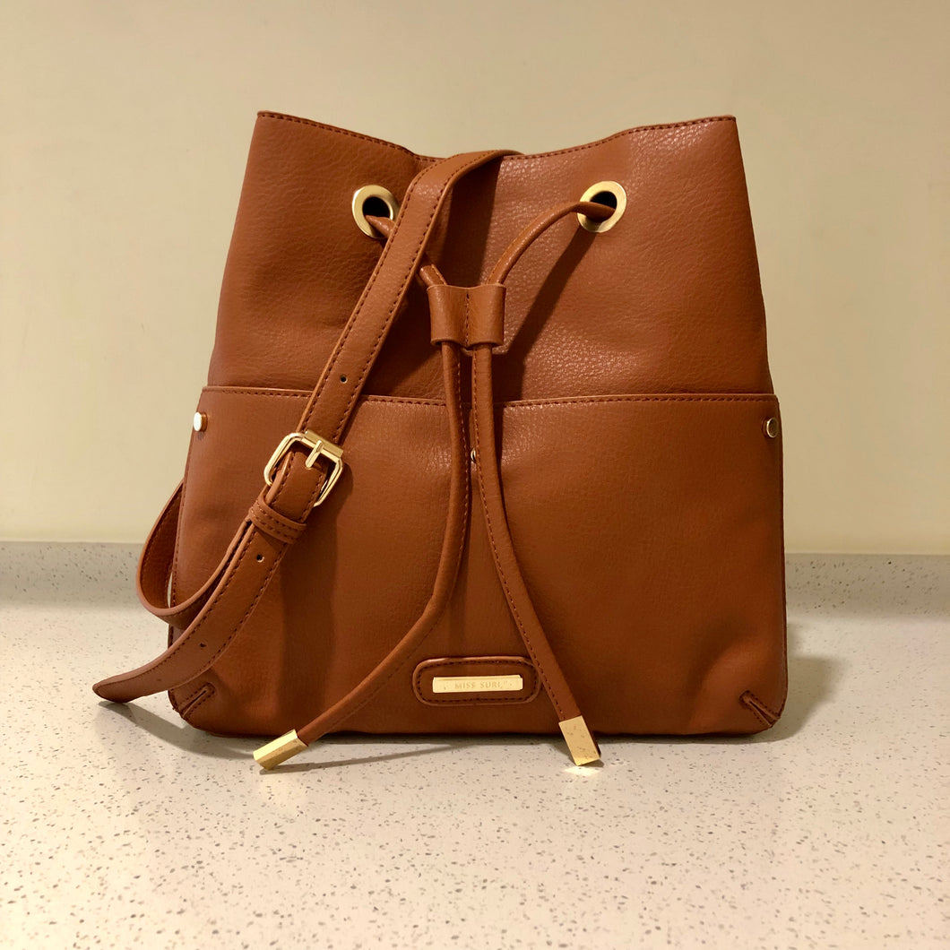 Grant Sling Bag Brown