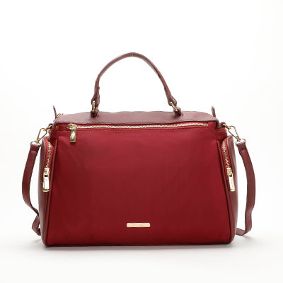 Suri Boston Bag Maroon
