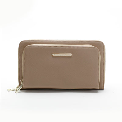 Suri Double Purse Beige