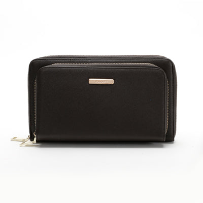 Suri Double Purse Black
