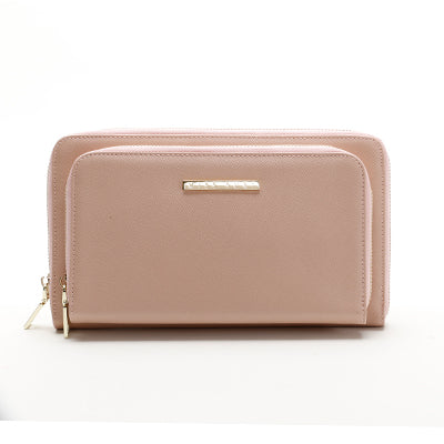 Double Purse Pink