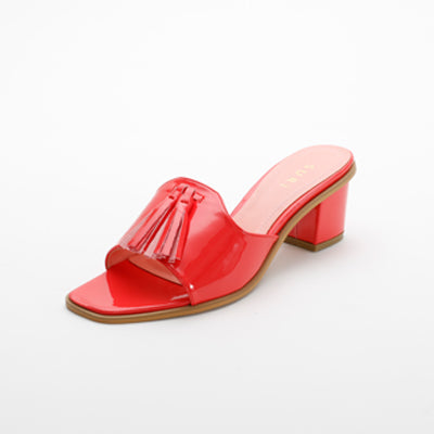 Suri Kelly Heel Red