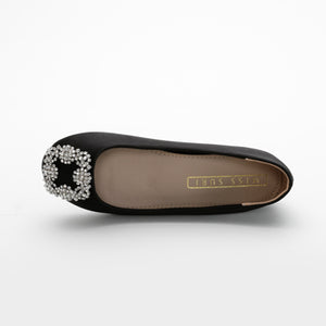Eleanor Flats Black