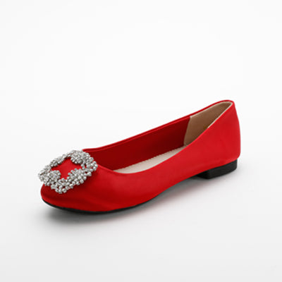 Eleanor Flats Red