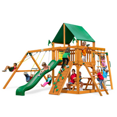 Gorilla Navigator Swingsets In Natural Cedar Or Timber Shield™ Post