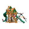 Image of Gorilla Great Skye I Swingset W/Sunbrella, Malibu And Treehouse Roof - Jumpin Jungle
